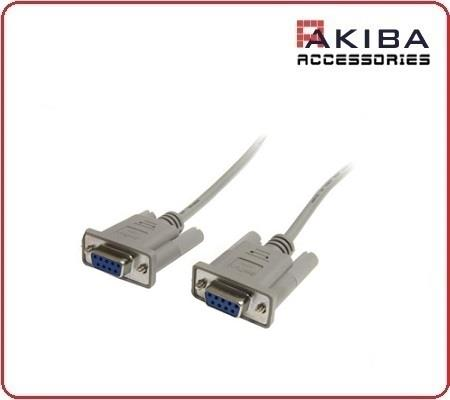 DB9 Serial 9p F to F Straight Pin RS232 Cable