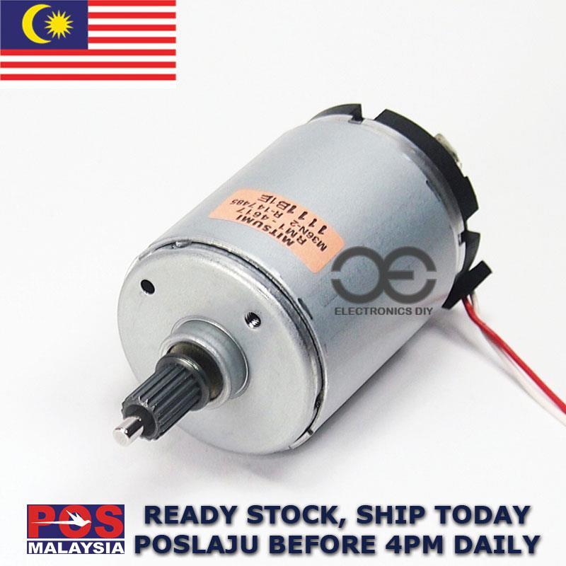Permanent Magnet Motor >> Dc Motor Dc3v 24v 2200 Rpm Japan Mitsumi Permanent Magnet Motor