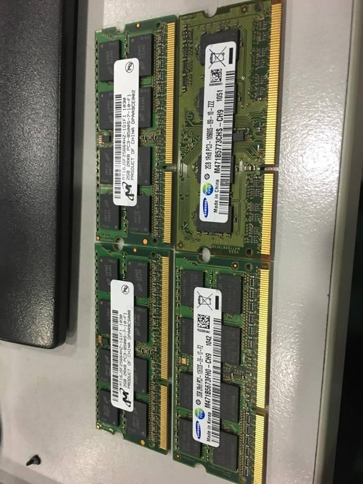 DDR3 2GB RAM 10600S 1333MHZ USE MEMORY NOTEBOOK LAPTOP USED