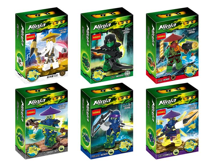 Decool 0092-0097 Ninjago Ghost Warri (end 5/23/2018 5:15 PM)
