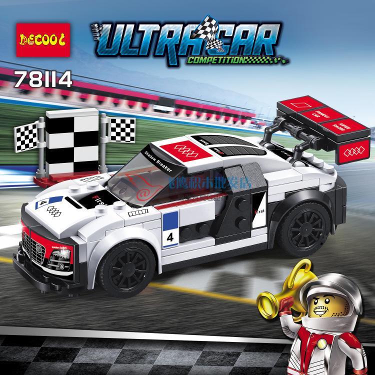Decool 78114 Speed Super Racers Ser (end 8/24/2018 10:15 PM