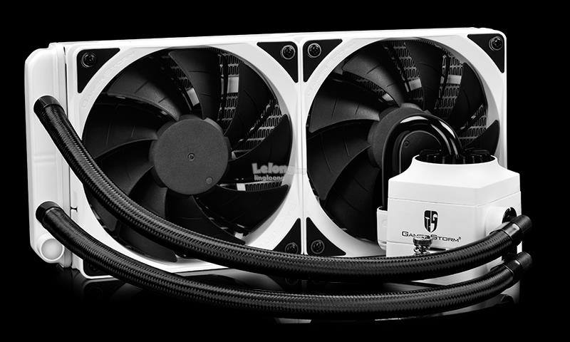 # DeepCool Captain 240 EX-White RGB AIO Watercooling # AM4 Ready
