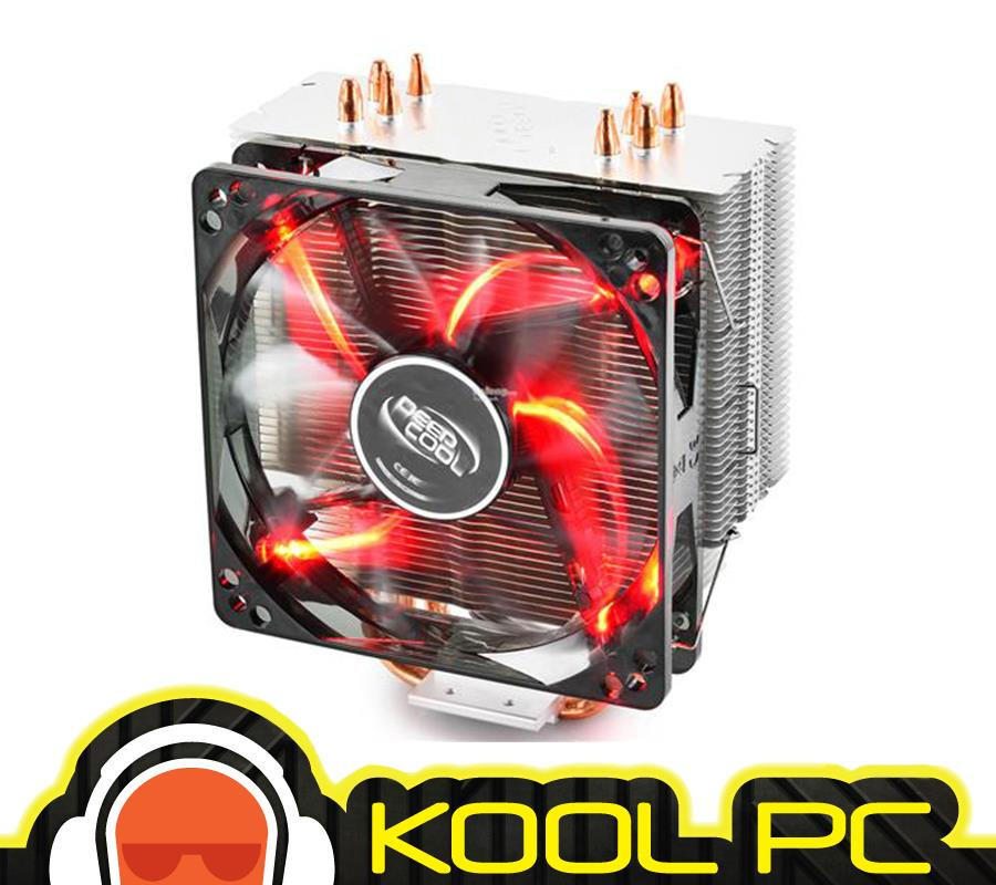 # DeepCool Gammaxx 400 Red Air CPU Cooler (DC-Gammaxx-400-Red)