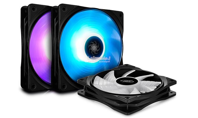 DEEPCOOL RF 120 RGB 12CM CHASSIS FAN ( 3 IN 1 PACK )