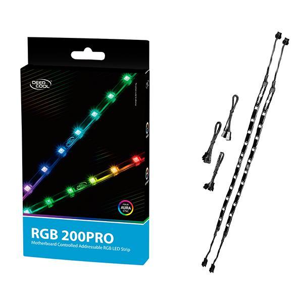 Deepcool RGB 200 Pro Addressable RGB LED Strip ARGB Mobo Sync