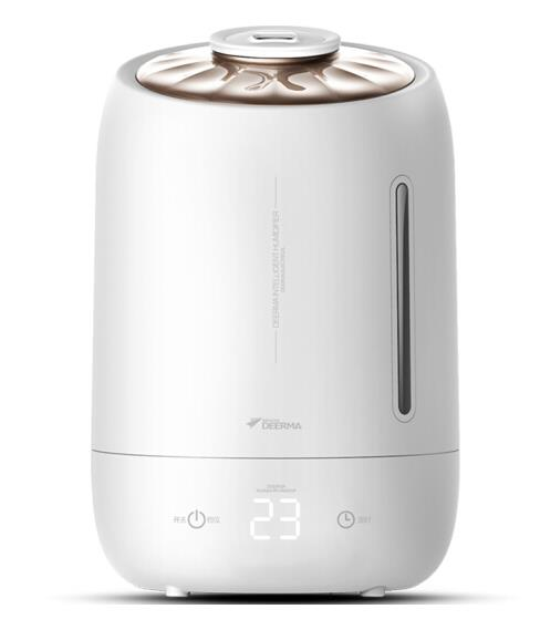Deerma Digital Air Humidifier Purifier LED 5.0L F600 (White Pearl)