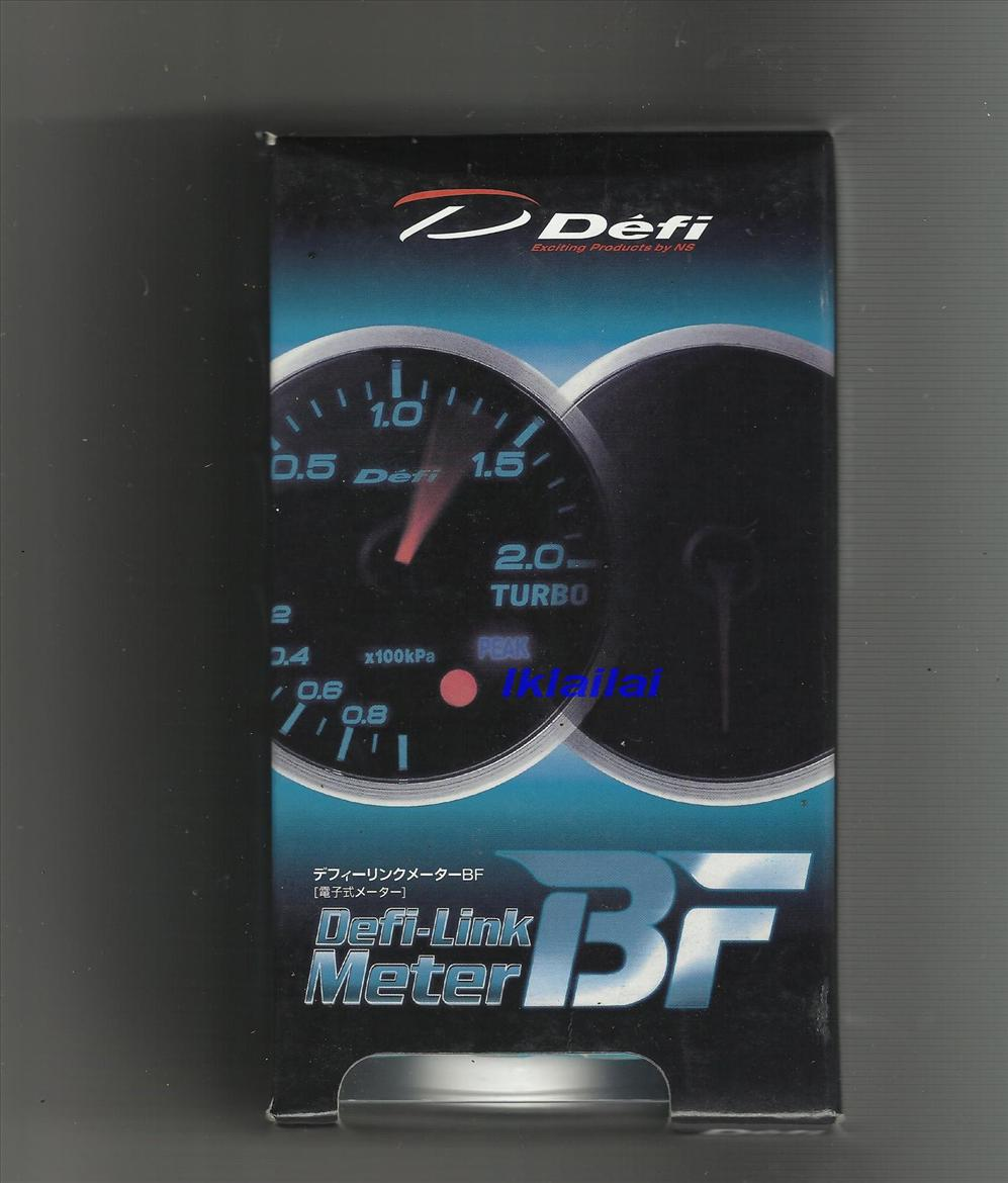 Defi 60mm BF Series Performance Meter