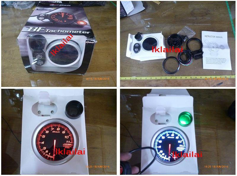 Defi BF Tachometer with Shift Light 3inch