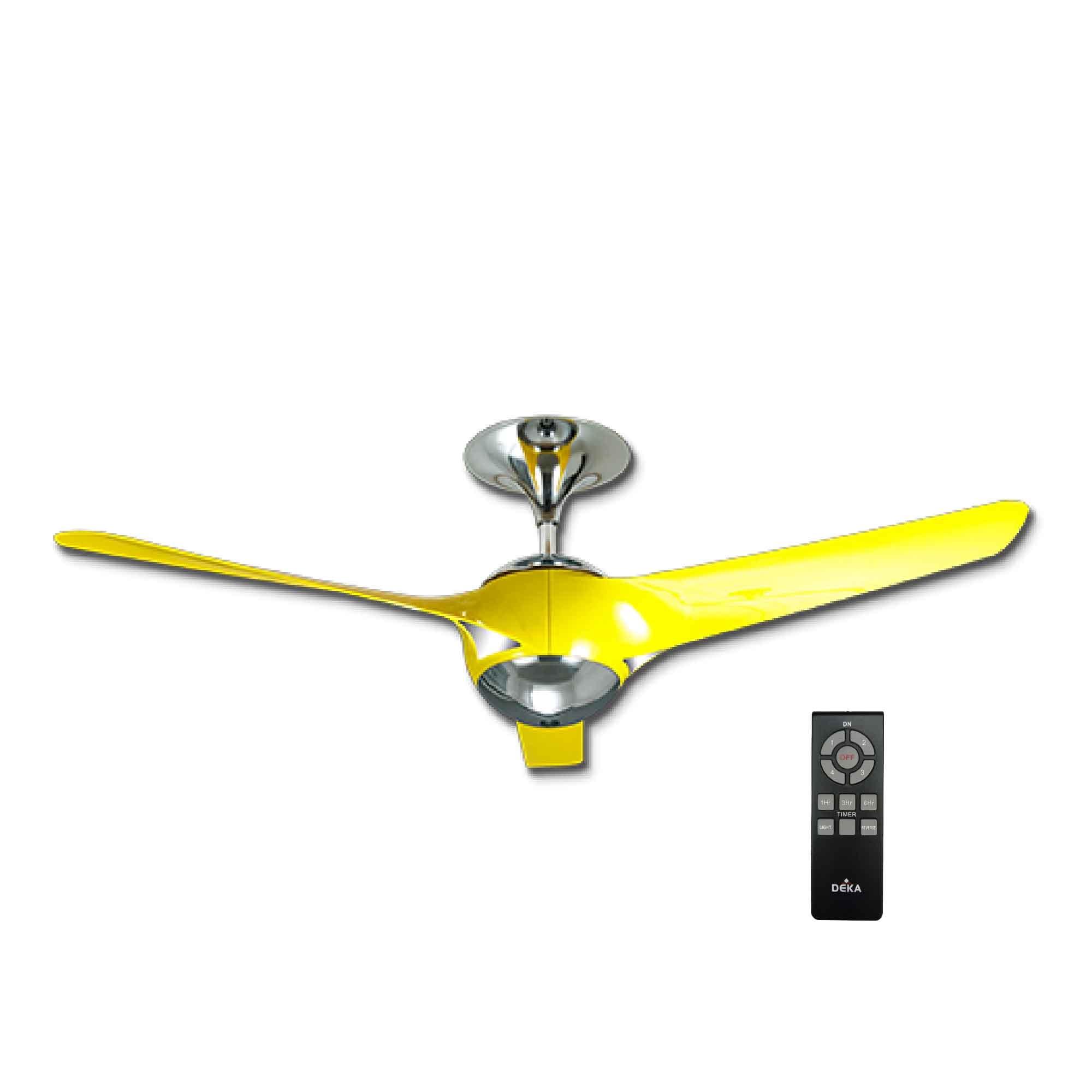 Deka Ceiling Fan Ev3 56 Aerodynamic Blades Design