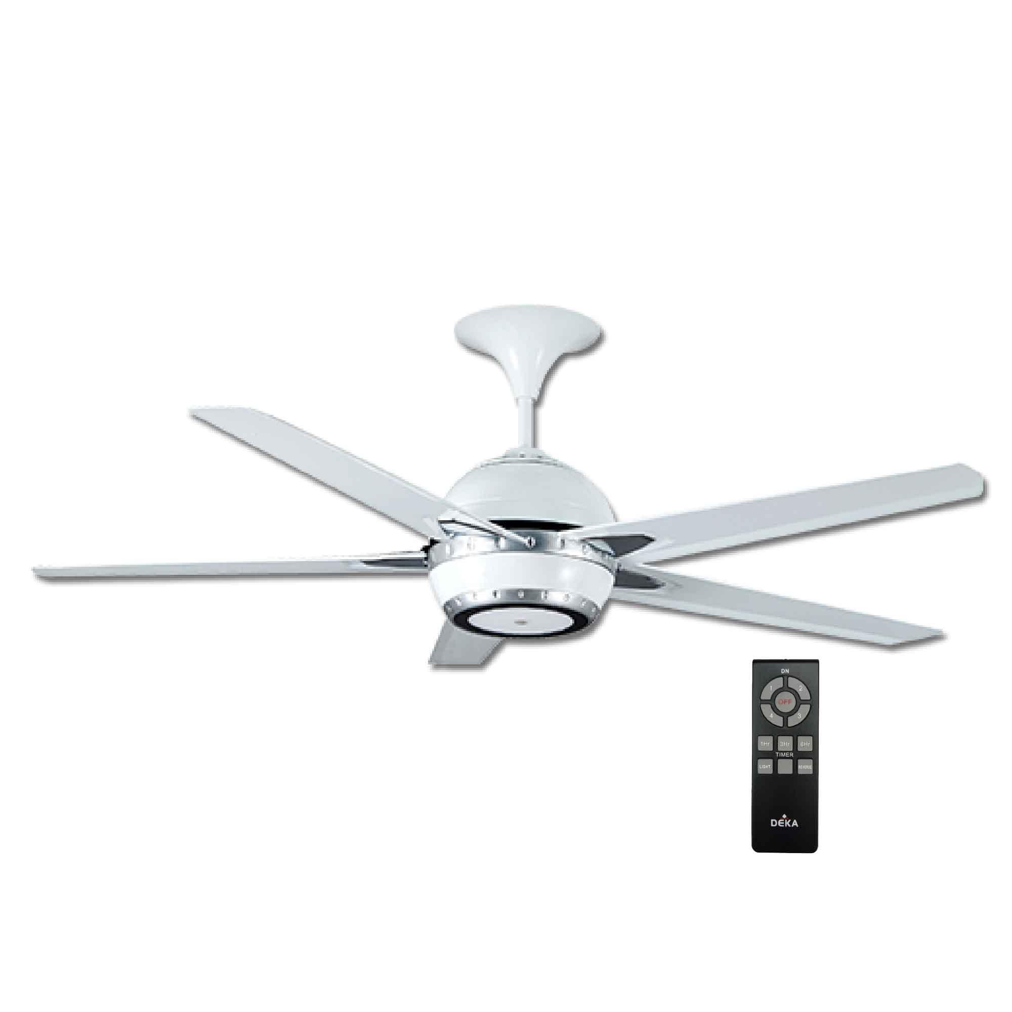 "deka ceiling fan with light q10 (60"") (end 5/3/2020 3:45 pm) Bright Ceiling Fan"