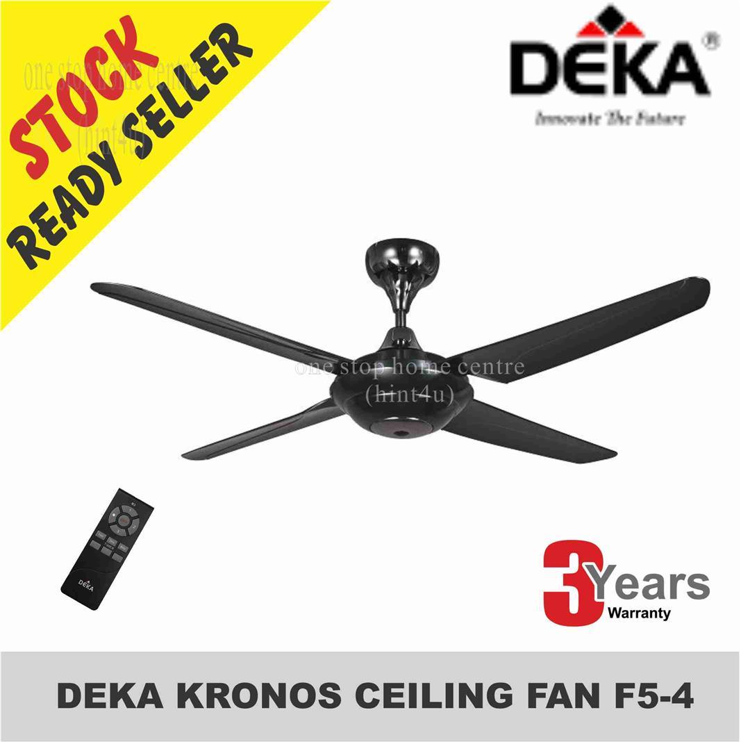 DEKA KRONOS CEILING FAN F5-4