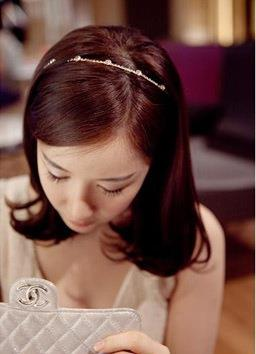 Delicate Diamond Hair Band