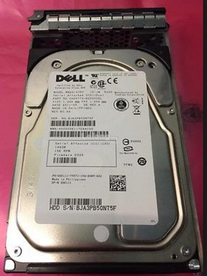Dell 06VNCJ - 500GB 6G 7.2K 3.5-inch Hot-Plug SAS Hard Drive with tray