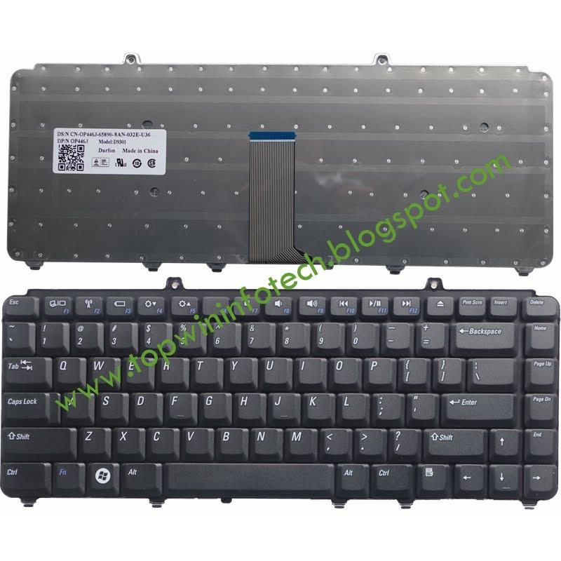 DELL 1420 NK750 1520 1525 1330 V1500 M1410 KEYBOARD