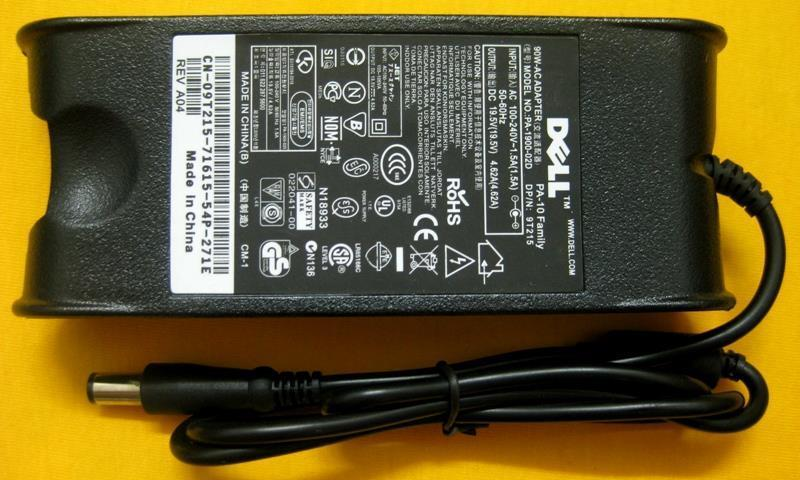 Dell 19.5V 19V 4.62A Notebook Laptop Power Adapter Charger