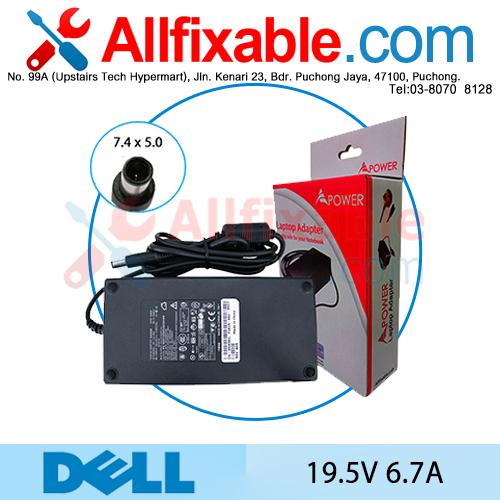 Dell 19.5V 6.7A XD802 Y807G Y808G Adapter Charger