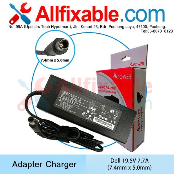 Dell 19.5V 7.7A XPS 15-L501x,  15-9530, 15 9530, M170 Adapter Charger