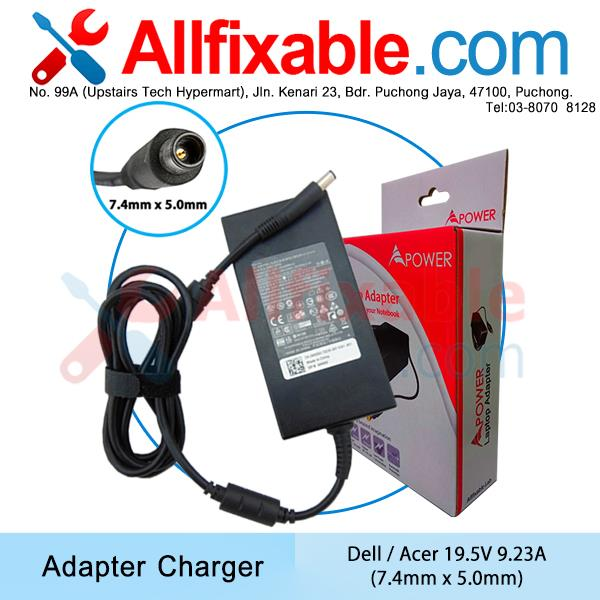 Dell 19.5V 9.23A Latitude E6420 E6420N E6500 Adapter Charger
