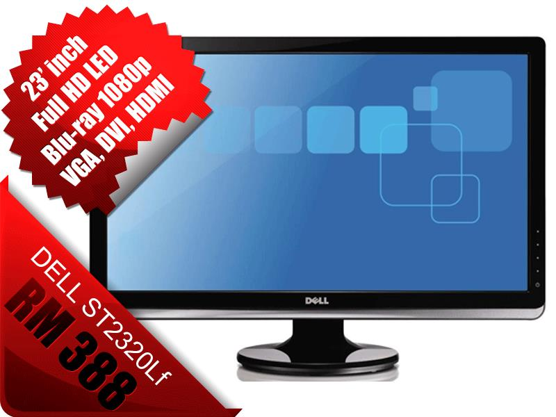 Dell 23'' LCD ST2320Lf 23 inch Full HD LED HDMI replace Dell S2340L