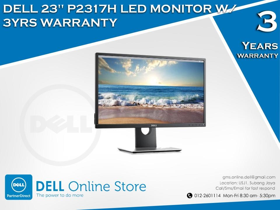 DELL 23' P2317H LED MONITOR