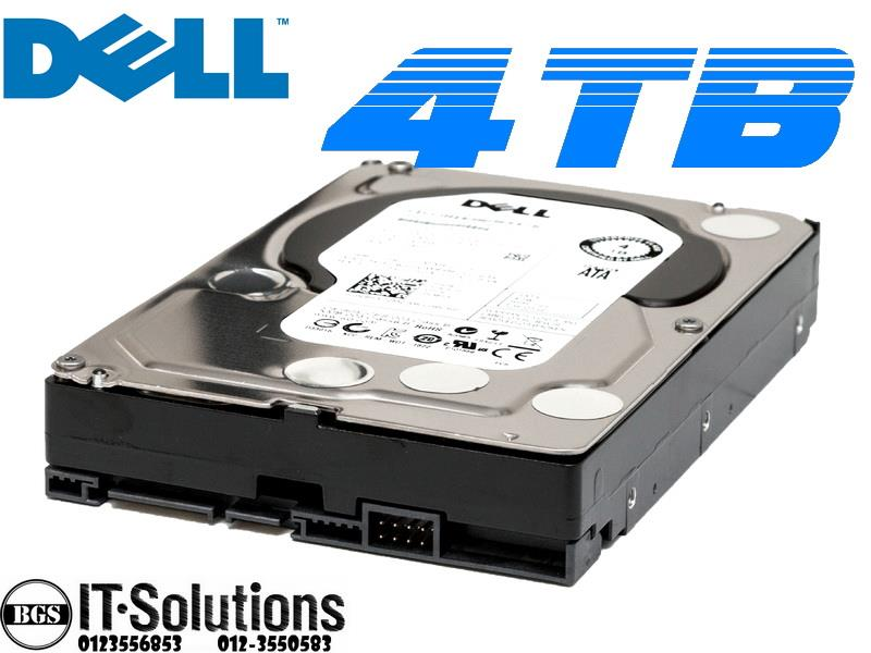 New DELL 4TB hard drive