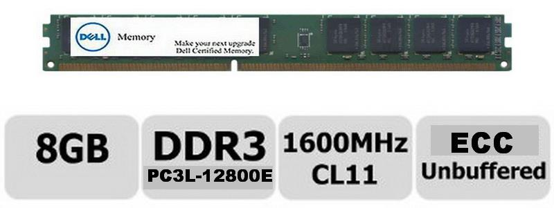 New Dell 8GB UDIMM Ram  for R410 R420 R510 R520 R610 R620 R710 R720