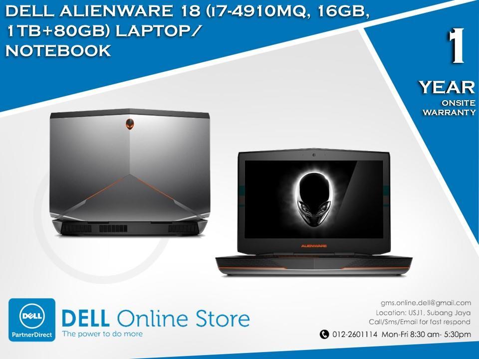 Driver: Dell Alienware 18