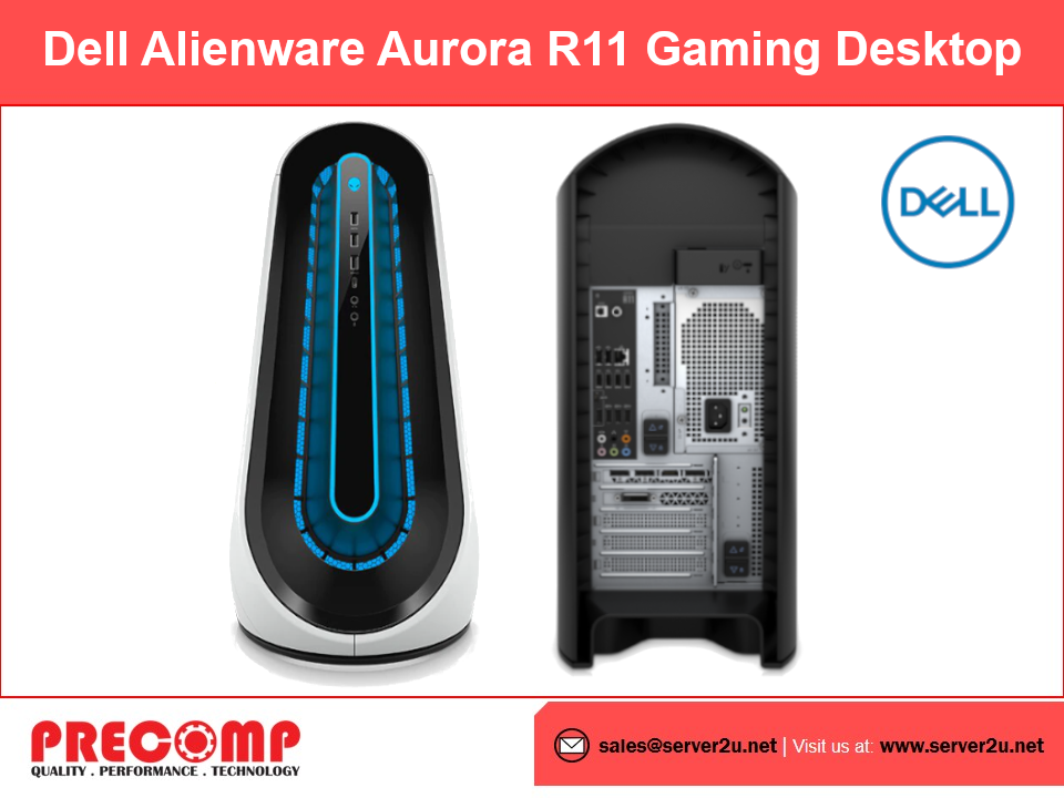 Dell Alienware Aurora R11 Gaming Desktop (i7-10700F.16GB.512GB)