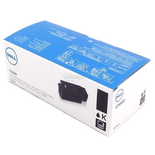 Dell C1660 Black Toner Cartridge 4G9HP (C1660W BK)