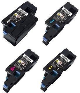 DELL C1660W C1760NW C1765NF C1765NFW COMPATIBLE TONER CMYK 1-SET 4 COL