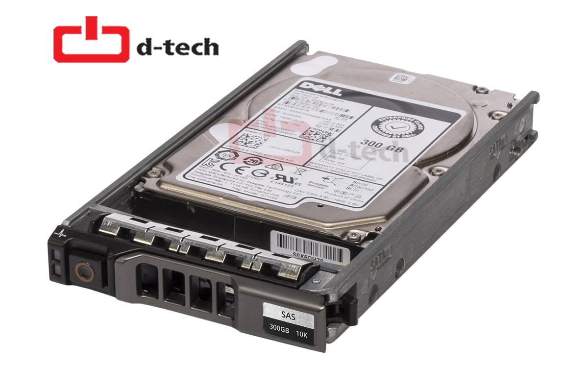 Dell C553P /  P252M  300-GB 6G 10K 2.5 SP SAS HDD Tray (as pictured)