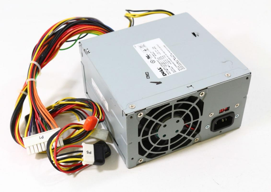 Computer Power Supply : Dell desktop pc power supply model end pm