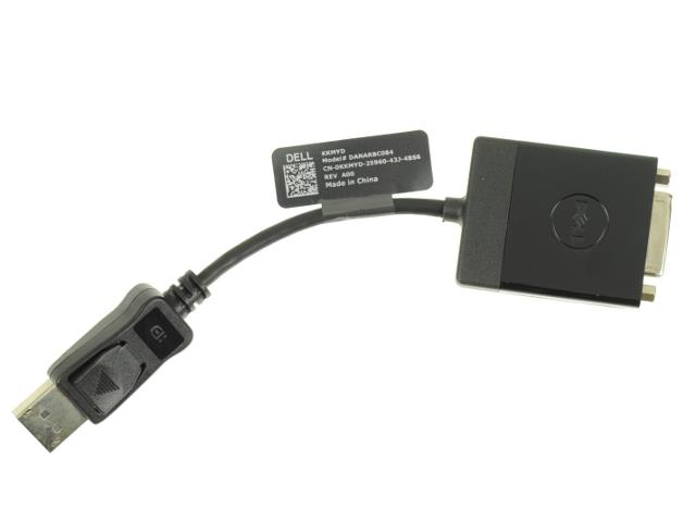 Dell DisplayPort to DVI Video Dongle Adapter Cable - KKMYD