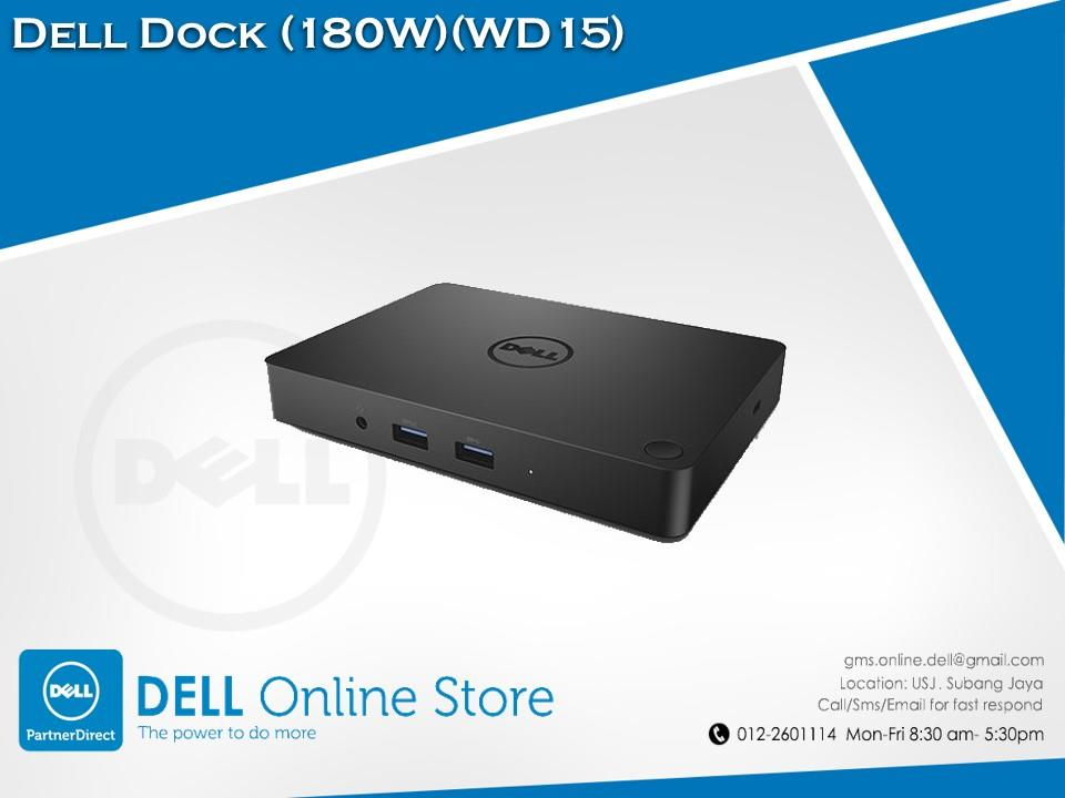 Dell Dock (180W) (WD15)