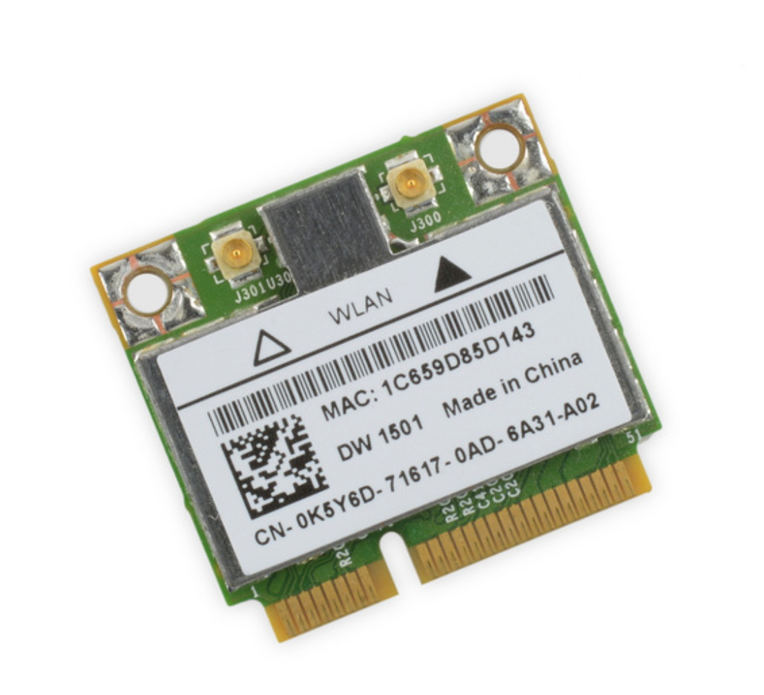 Dell 1501 Wireless-N Card in the 1647/45