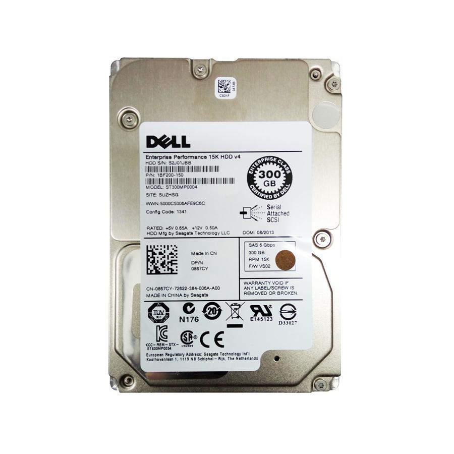 "Dell Enterprise Performance 300GB SAS 15K RPM 2.5"" Hard Disk"