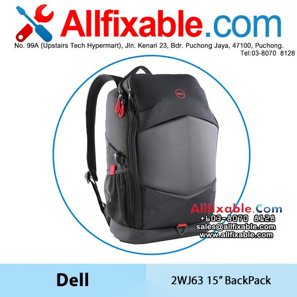 Dell Genuine 15'' 2WJ63 Laptop Gaming Weather Resistant BackPack Bag
