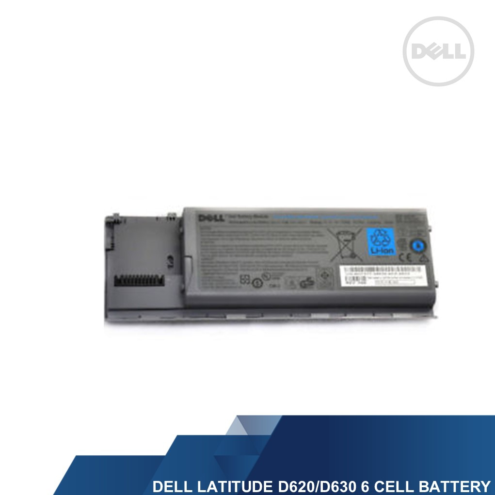 DELL GENUINE LATITUDE D620/D630 6 CELL LAPTOP BATTERY