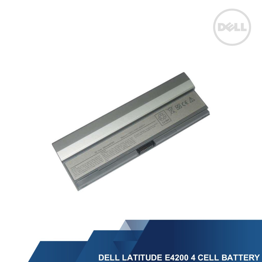 DELL GENUINE LATITUDE E4200 4 CELL LAPTOP BATTERY