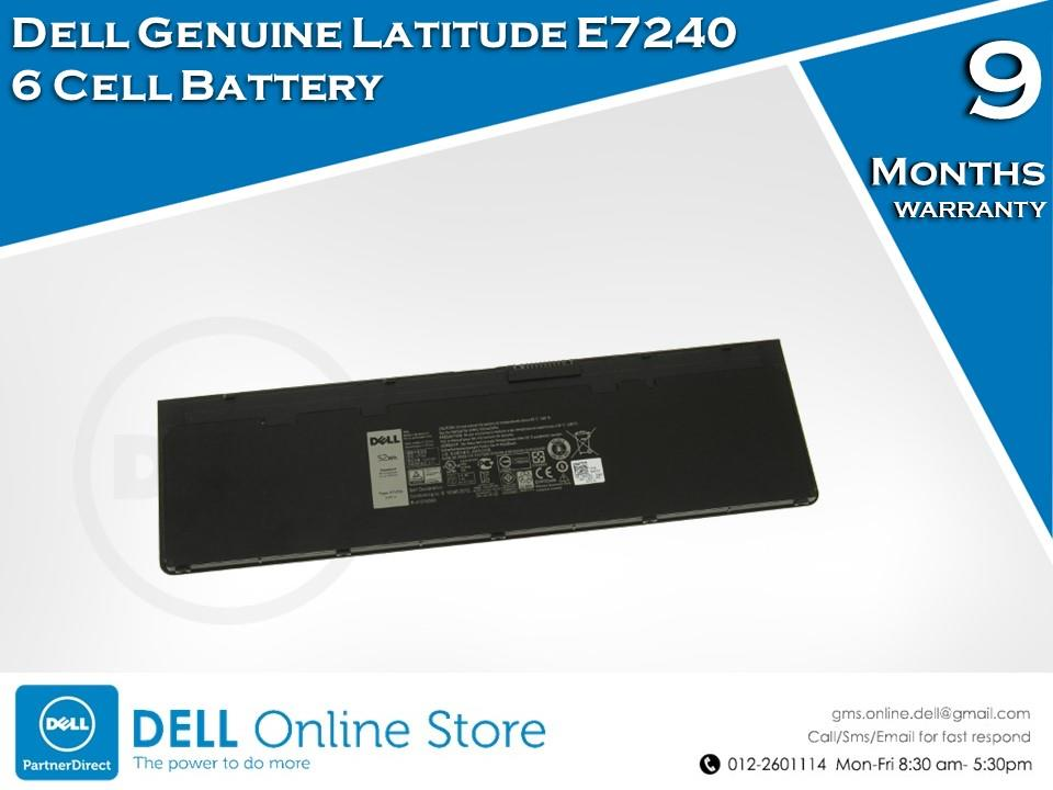 Dell Genuine Latitude E7240 6 Cell Battery