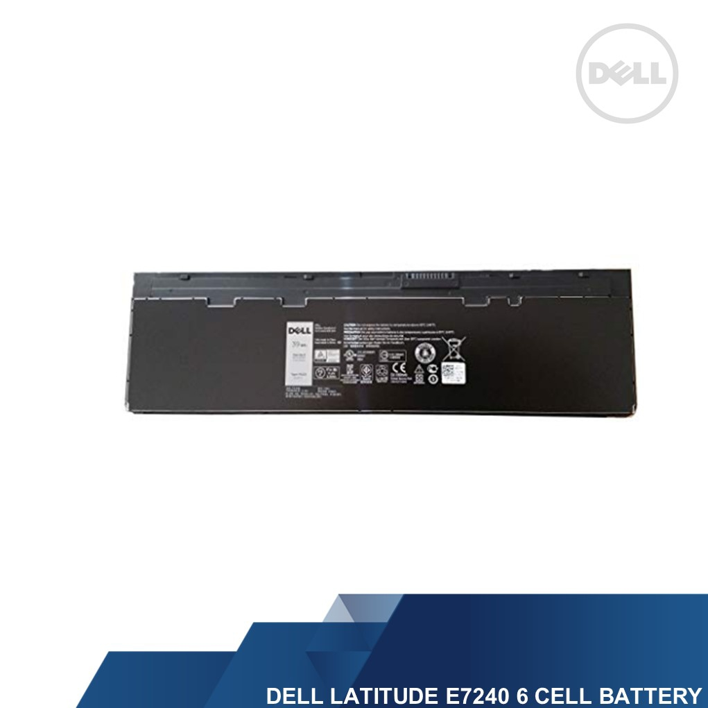 DELL GENUINE LATITUDE E7240 6 CELL LAPTOP BATTERY