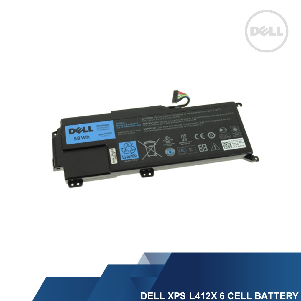 DELL GENUINE XPS L412X 6 CELL LAPTOP BATTERY