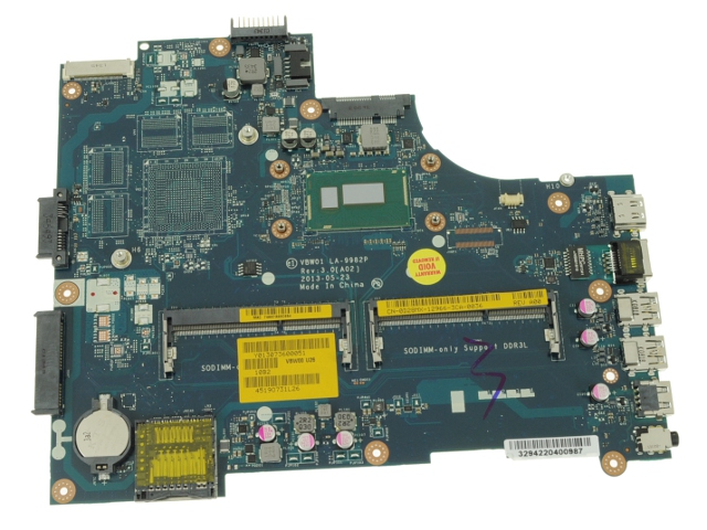 Dell Inspiron 15R (5537) / 15 (3537) Motherboard System Board with 1 4