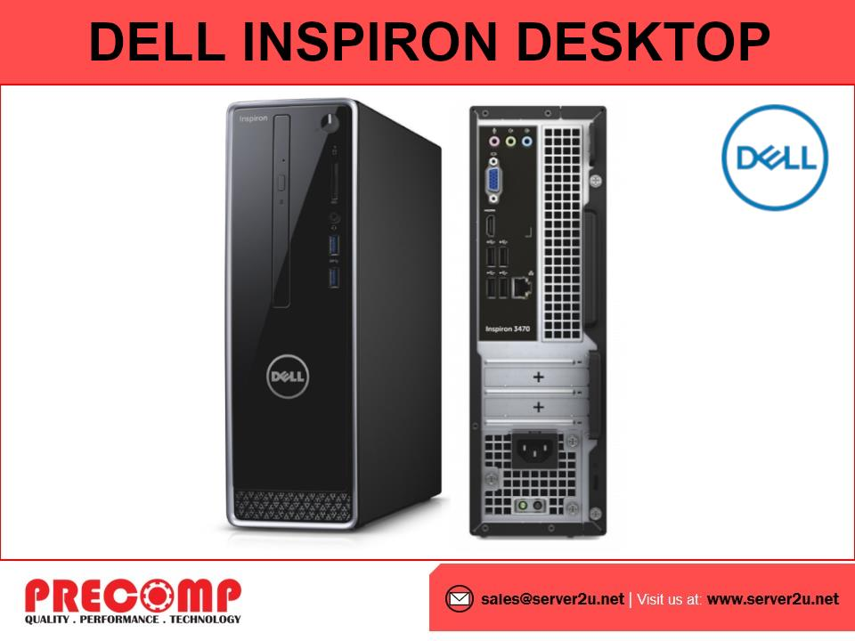 Dell Inspiron 3471 Small Desktop (i5-9400.8GB.1TB) (3471-9481SG-W10)