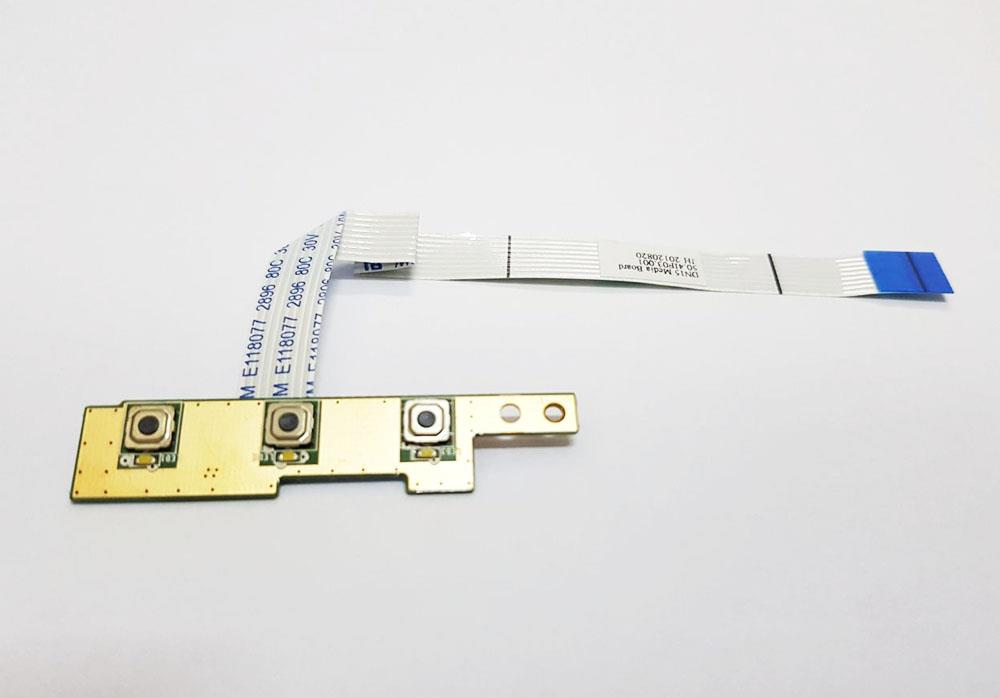 Dell Inspiron N5110 Media Button Board With Cable