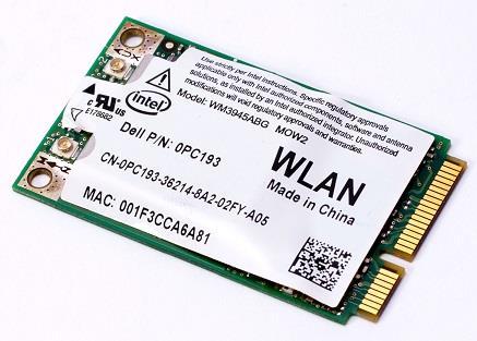 Dell Precision M6300 Intel PRO/Wireless 3945ABG 64 Bit