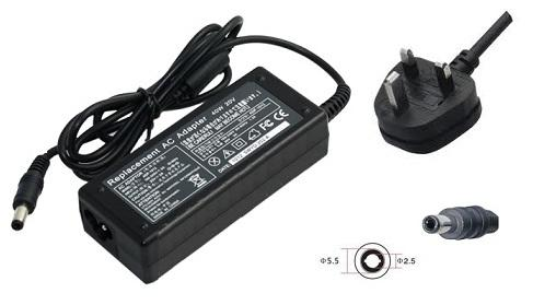DELL laptop AC Power Adaptor Charger 19V 3.16A 5.5x2.5mm
