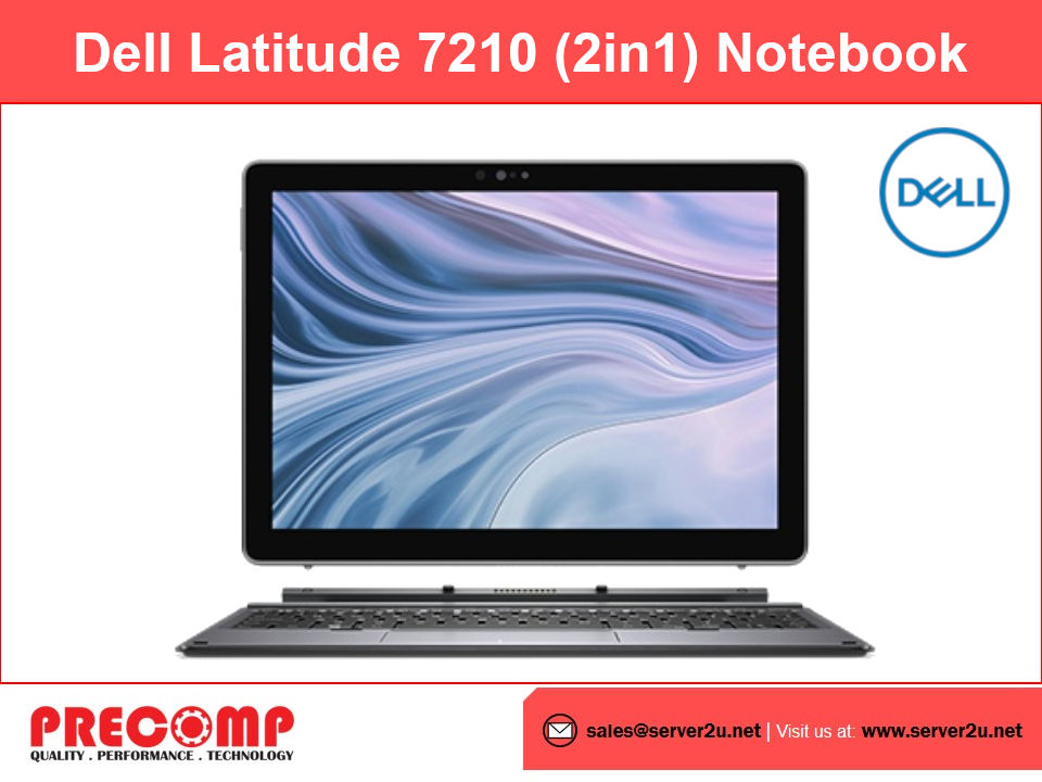 Dell Latitude 7210 (2in1) Notebook (i5-10210U.8GB.256GB)
