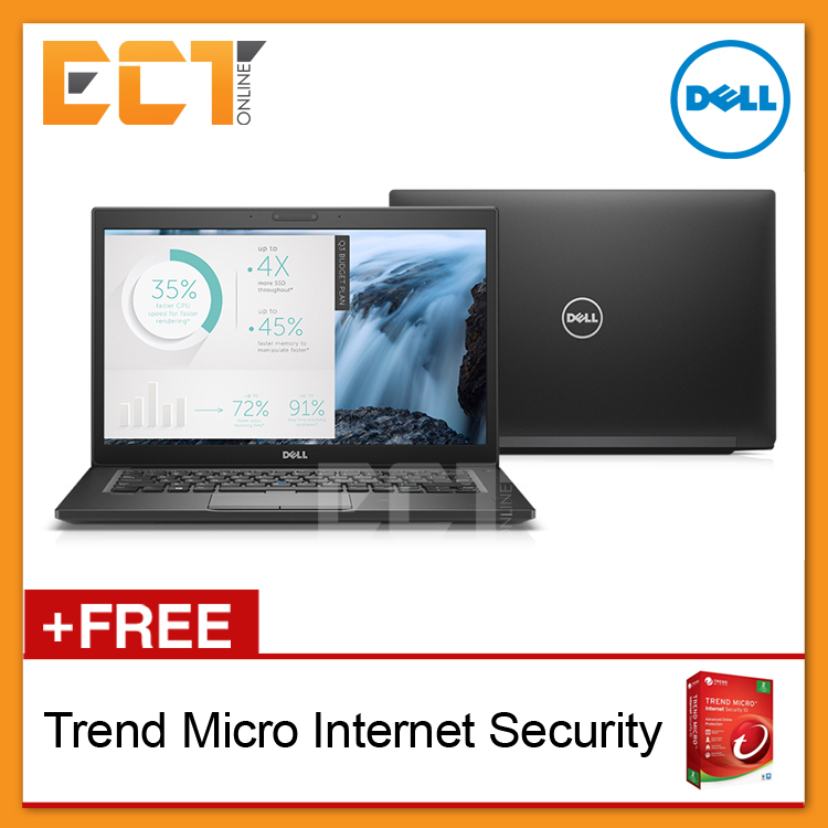 Dell Latitude 7480 Business Laptop (i5-6300U,256GB SSD,8GB,14