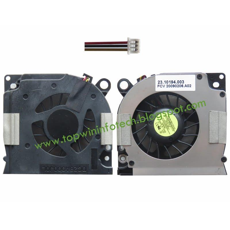 DELL Latitude D620 D630 PP18L PP29L D631 COOLING FAN